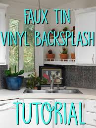 faux tin kitchen backsplash faux tin kitchen backsplash tutorial crafty gnome
