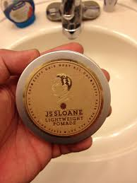 Pomade Air js sloane â lightweight pomade â the dapper society s grooming