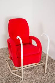 chair side transfer rail helping you in and out of a chair