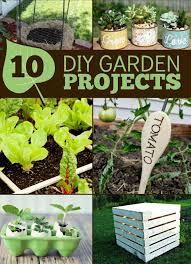 Summer Gardening - 10 diy garden projects frugal mom eh