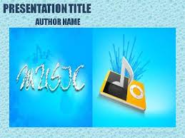 music powerpoint templates archives demplates