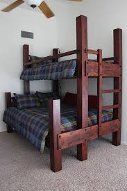 Free Plans For Twin Over Full Bunk Bed by Best 25 Queen Bunk Beds Ideas On Pinterest Queen Size Bunk Beds