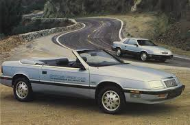 old maserati convertible pace setter 1987 chrysler lebaron coupe and convertible p