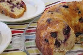 a spoonful of thyme blueberry lemon pound cake