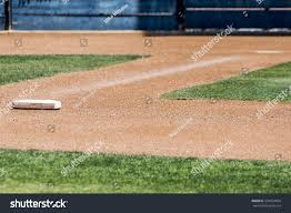 home plate home plate first base on baseball stock photo 536934604 shutterstock