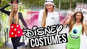 diy disney pixar halloween costumes baymax minnie u0026 monsters inc
