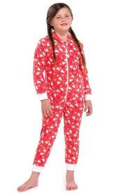 boys childrens hooded onezee pyjamas pjs sleep jumpsuit