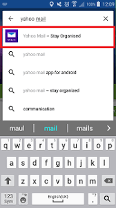 yahoo app for android how do i get the yahoo mail app on my samsung galaxy device