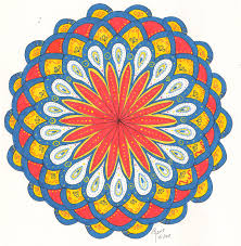 coloring club fun lunanista i made some samples of the mandala