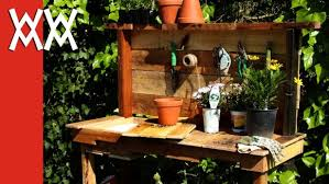 Plant Bench Plans - bench garden potting bench plans diy potting bench plans that