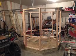 Deer Blind Elevator Brackets Octagon Blind Builds Deer Hunter Forum