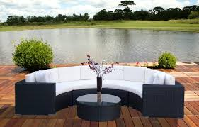 Nice Outdoor Curved Sofa  Outdoor Wicker Curved Sectional Sofa - Round outdoor sofa 2