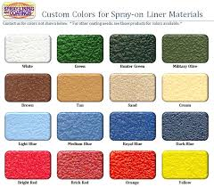 custom color truck bedliner