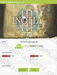 inotia 3 apk inotia 3 children of carnia hack apk gold and gems