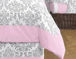 Pink Mossy Oak Comforter Set Pink U0026 Gray Elizabeth Comforter Set 3 Piece Full Queen Size By