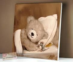 cadre pour chambre enfant tableau deco enfant tableau ourson souris pour la dco de bb vente
