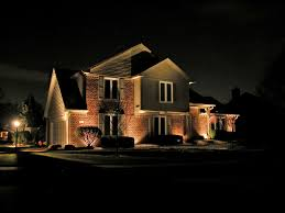 Outdoor Lighting House by Example Of Roof Peak Lighting Outdoor Garage Lighting