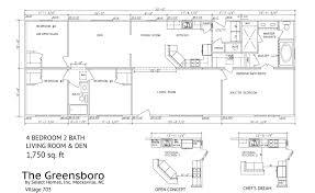 bedroom cheap modular homes 4 bedroom ranch floor plans modular