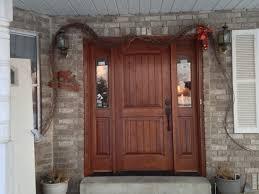 Exterior Doors Wooden Exterior Wooden Doors For Garage Exterior Doors Ideas