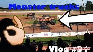 monster truck show video monster truck show vlog 31 youtube