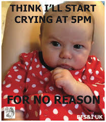 Crying Baby Meme - colic and crying babies through the eyes of a breastfeeding