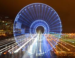 seattle great wheel pictures video u0026 info schedule cost size