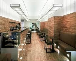 Lounge Bar Relies On Cafe Interior Lighting Design As The Main - Modern cafe interior design