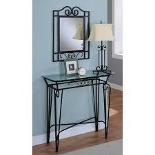 black metal entry table 52 entry table mirror set entryway table and mirror sets foter