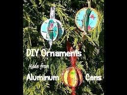 upcycled soda can ornament