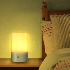 Led Bedside Lamp 1byone Bedside Lamp Touch Sensor Cordless Table Light With