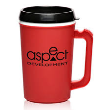 personalized 22 oz travel mugs with spill resistant lids im22