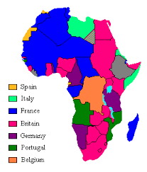 africa map before colonization colonial africa in 1913