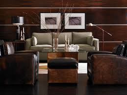 Drexel Heritage Leather Sofa by Drexel Heritage Walt Disney Signature Collection For The Home