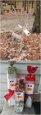Wooden Christmas Decorations For Outside by Best 25 Wooden Reindeer Ideas On Pinterest Christmas Garden