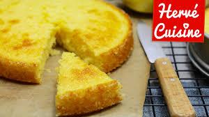 tarte au citron meringuée hervé cuisine recette du gâteau moelleux au citron facile