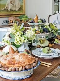 Table Centerpieces For Thanksgiving Thanksgiving Table Setting Ideas Hgtv