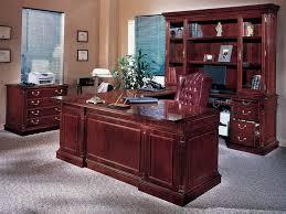 Wooden Office Desk Office Desk Solid Wood Home Office Furniture Solid Oak Computer
