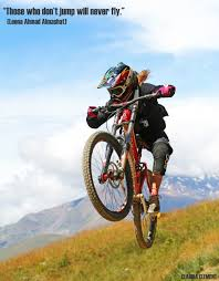 motocross mountain bike those who don u0027t jump will never fly mountain biking pinterest