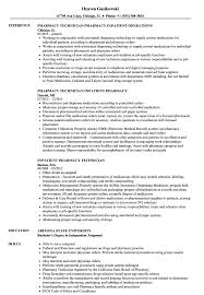 pharmacy technician resume inpatient pharmacy technician resume sles velvet