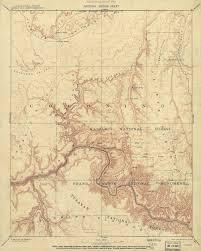 Grand Canyon Arizona Map by The Grand Canyon