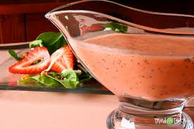 perfect strawberry poppyseed dressing tried and tasty
