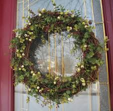 Wreath For Front Door Stranded In Cleveland Front Door Wreath Diy Craft January Wreath