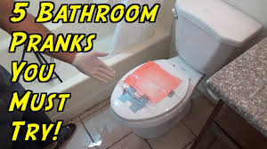 bathroom prank ideas 5 bathroom pranks you can do at home how to prank evil booby