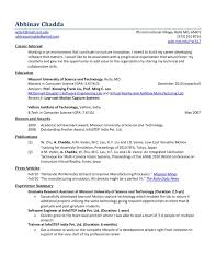 Sample Resume Software Developer by Sample Resume For Experienced Software Engineer Free Download