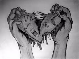 drawings of a broken heart google search hearts pinterest