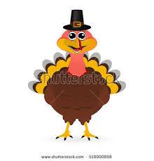 happy thanksgiving day card turkey stock vector 705648793
