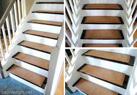 wood stair runners wood stair carpet runners diy stair treads