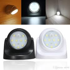 best led motion sensor light best security 9 led led motion sensor night light 360 degree