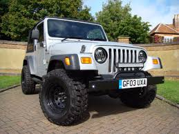 old white jeep wrangler used in bedfordshire jeep wranglers for sale uk claridges cars