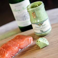 what goes good with our amazing salmon fallot french mustard and mustard